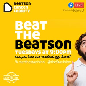 Beat the beatson | pub quiz