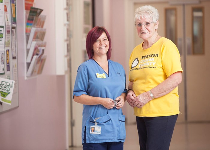 Beatson Cancer Charity Volunteer